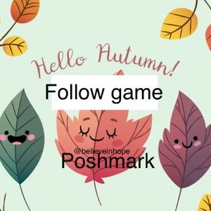 Accessories - 🍁Follow game🍁